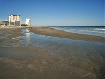 Myrtle Beach Morning royalty free stock photo