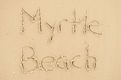 Myrtle Beach Royalty Free Stock Photos