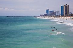 Myrtle Beach, SC Imagem de Stock Royalty Free