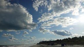 Myrtle Beach SC. Ocean landscape royalty free stock photo