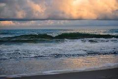 Myrtle Beach Shoreline South Carolina. Myrtle Beach Shoreline in South Carolina royalty free stock photo