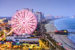 Myrtle Beach Skyline Immagine Stock