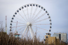 Myrtle Beach Skywheel imagem de stock