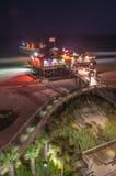 Myrtle beach south carolina. Pier 14 on myrtle beach south carolina stock photography
