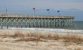 Myrtle Beach South Carolina Pier Royalty-vrije Stock Fotografie