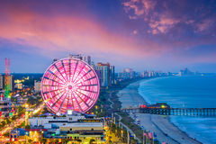 Myrtle Beach, South Carolina, USA. City skyline royalty free stock photography