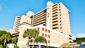 Myrtle beach south carolina usa modern hotel stock images