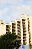 Myrtle beach south carolina usa modern  hotel Royalty Free Stock Image