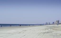 Myrtle Beach In The Winter Arkivbild