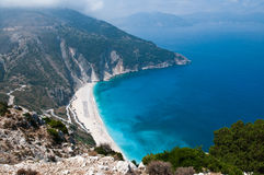 Myrtos Beach Stock Photos