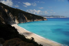 Myrtos Beach Royalty Free Stock Photo
