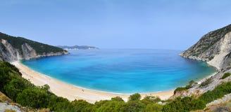 Myrtos beach Royalty Free Stock Photos