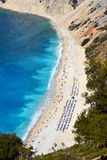Myrtos beach, Greece Stock Photo