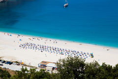 Myrtos beach, Kefalonia Stock Photos