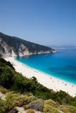Myrtos beach, Kefalonia Royalty Free Stock Photos