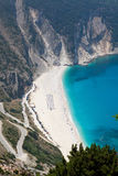 Myrtos beach, Kefalonia Royalty Free Stock Photography