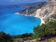 Myrtos Beach, Kefalonia, Greece Royalty Free Stock Photos