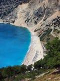 Myrtos Beach, Kefalonia, Greece Stock Image