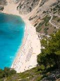 Myrtos beach in Kefalonia, Greece Royalty Free Stock Photo