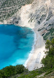 Myrtos Beach Stock Image