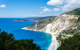 Myrtos Royalty Free Stock Photography