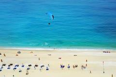Myrtos strand, Grekland Royaltyfri Foto