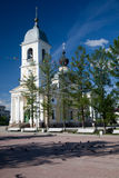 Myshkin. Cathedral. Myshkin. Russian Federation. The Assumption Cathedral Royalty Free Stock Photo