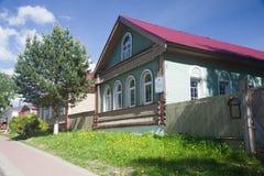 Myshkin. The house of noblemen. Myshkin. The house of noblemen Sorokin Royalty Free Stock Image