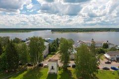 Myshkin on the Volga Royalty Free Stock Photo