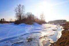 Myshkino wioska, Rosja Fotografia Stock