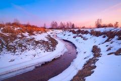 Myshkino wioska, Rosja Zdjęcia Stock