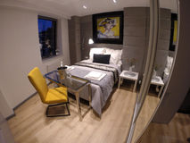 Mysig lägenhet i mitten av Gdansk Fotografering för Bildbyråer