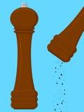 młyński pieprz Obraz Stock