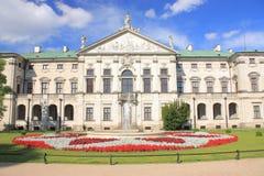 Myslewicki pałac w Warszawskim Polska Fotografia Royalty Free