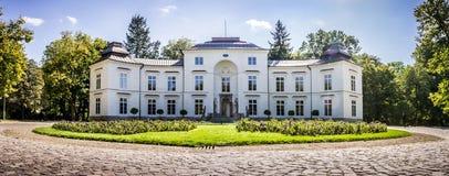 Myslewicki Palace, Lazienki Park in Warsaw, Poland Royalty Free Stock Photos