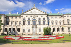 Myslewicki Palace in Warsaw Poland. Royalty Free Stock Photography