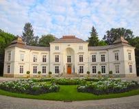 Myslewicki Palace, Warsaw. Stock Image