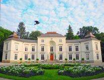 Myslewicki Palace, Warsaw. Royalty Free Stock Photo