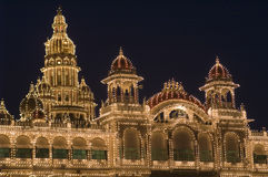 Mysore City Palace Stock Photos