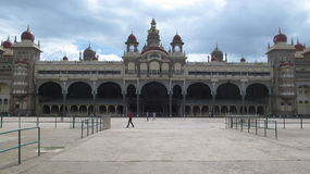 Mysore city palace. Front view of Mysore city palace Royalty Free Stock Photography