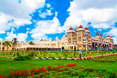 mysore Der Hauptpalastkomplex Stockfotografie
