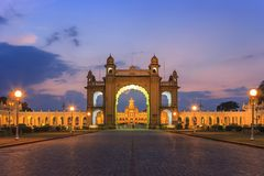 Mysore Palace - India Stock Image