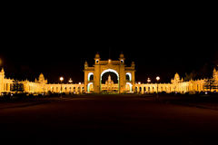 Mysore Maharaja Palace Royalty Free Stock Photo