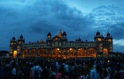 Mysore pałac, India zdjęcie stock