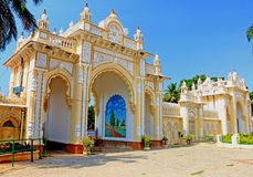 Mysore pałac gruntuje Karnataka ind Fotografia Stock