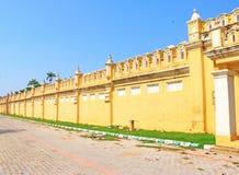 Mysore pałac gruntuje Karnataka ind Obrazy Stock