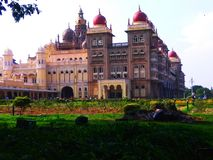 Mysore pa?ac, India obraz royalty free