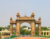 Mysore pałac Karnataka ind Zdjęcie Royalty Free