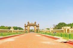 Mysore pałac Karnataka ind Zdjęcie Stock