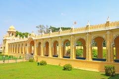 Mysore pałac Karnataka ind Obrazy Stock